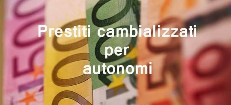 prestiti cambializzati ad autonomi